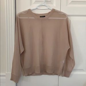 Cute pink/nude blouse, never worn !